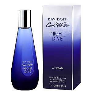 Davidoff Cool Water Night Dive Woman EDT 80 ml pentru femei