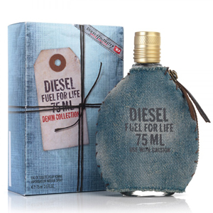 Diesel Fuel for Life Denim Collection Pour Homme EDT Tester 75 ml pentru barbati