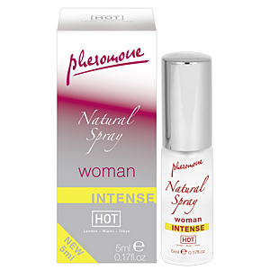HOT Intense Woman Pheromone natural spray 5 ml pentru femei