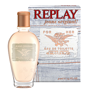 Replay Jeans Original! For Her EDT 20 ml pentru femei