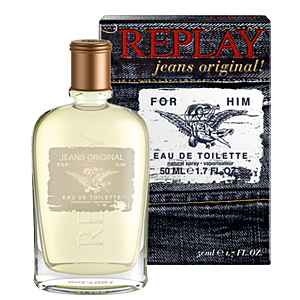 Replay Jeans Original! For Him EDT 30 ml pentru barbati