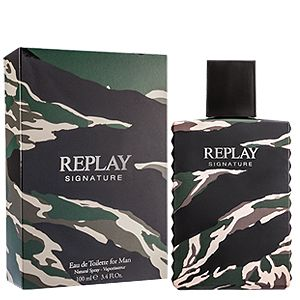 Replay Signature For Him EDT 50 ml pentru barbati